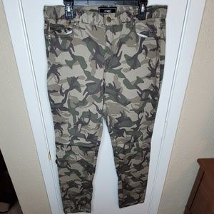 Camo Five Pocket Jeans